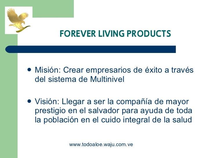 <ul><li>Misión: Crear empresarios de éxito a través del sistema de Multinivel </li></ul><ul><li>Visión: Llegar a ser la co...