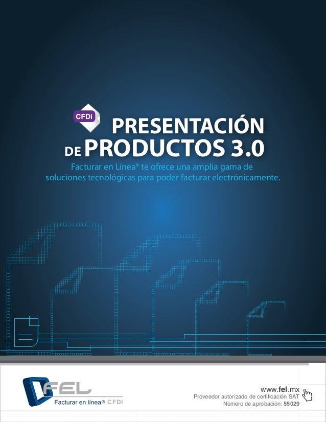 Presentacion de productos fel