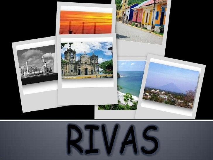 Caracterización del Departamento de Rivas y sus Municipios