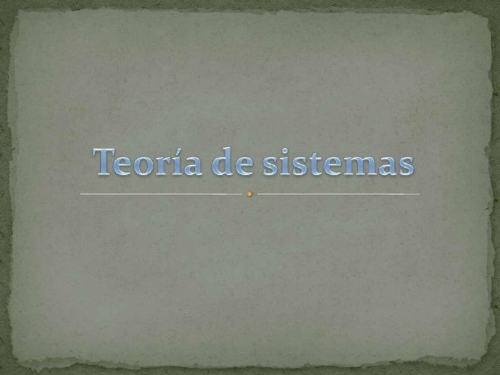 Presentacion de sistemas..