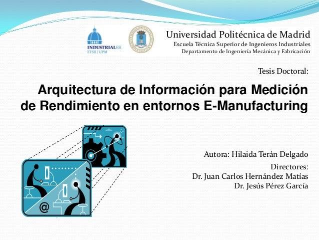Universidad Politécnica de Madrid Escuela Técnica Superior de Ingenieros Industriales Departamento de Ingeniería Mecánica ...