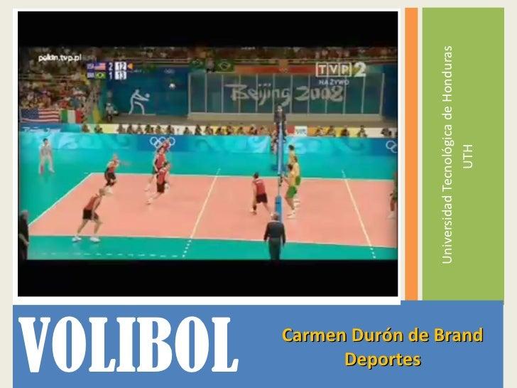 historia voleibol honduras: