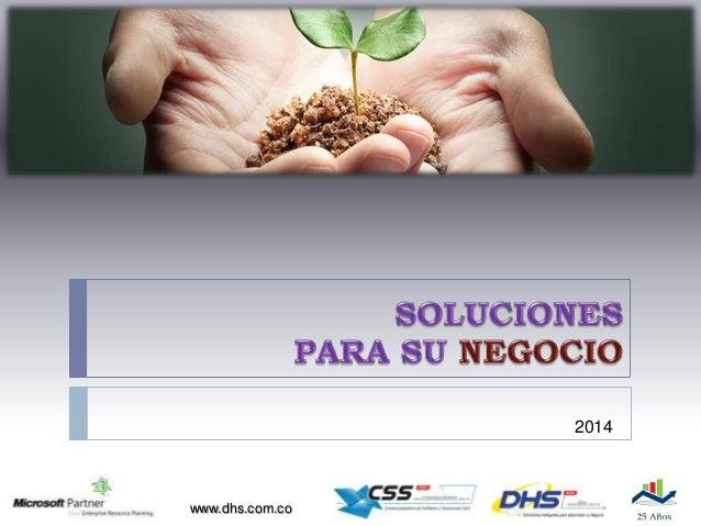 Presentacion DHS 2014