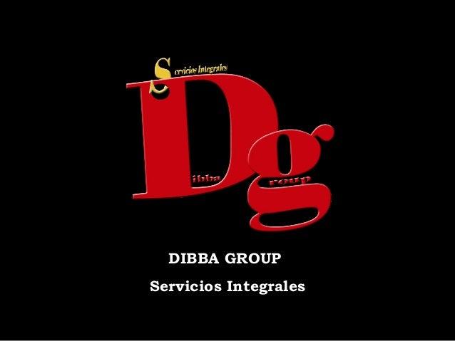 Presentacion dibba group
