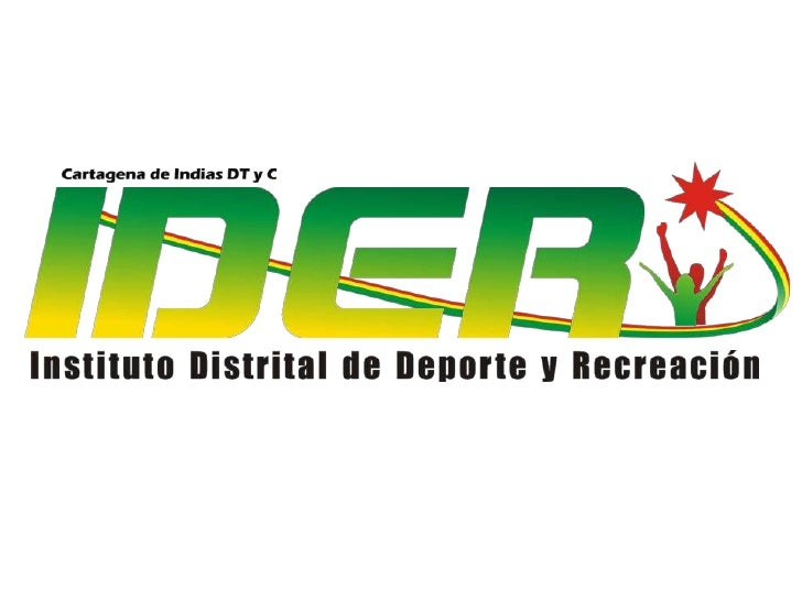 Presentacion  General Discapacidad IDER cartagena de Indias