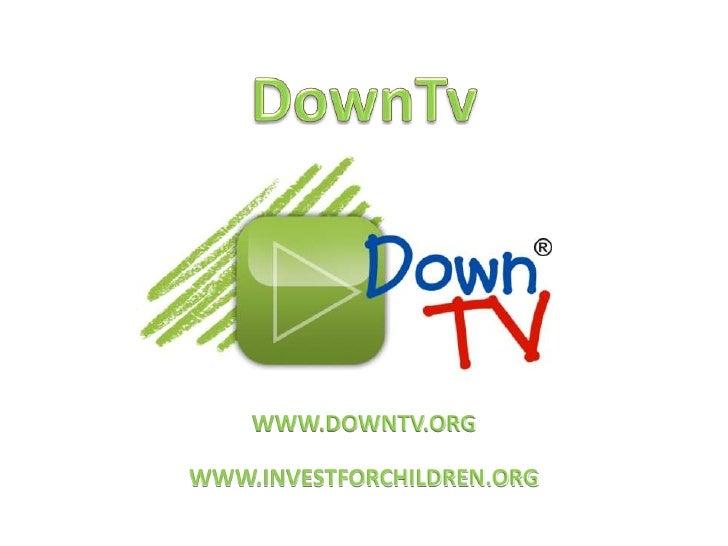 Presentación Down TV (español)