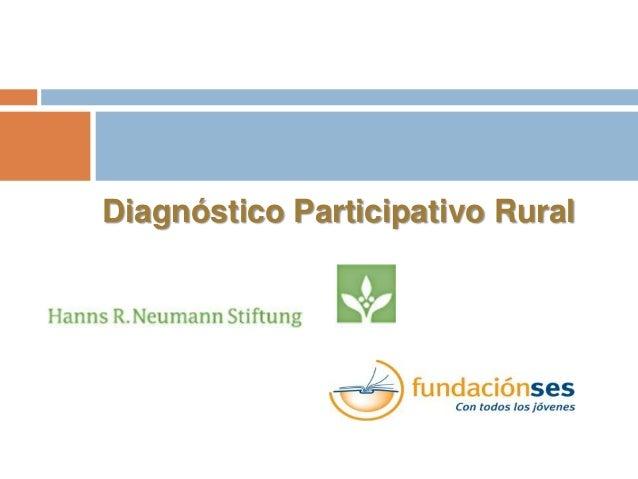 Diagnóstico Participativo Rural