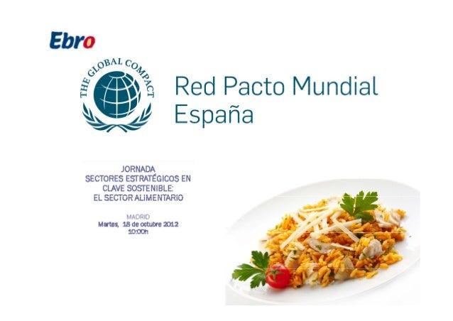 Presentación Ebro Foods