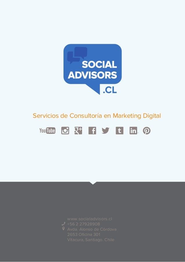 Presentación ejecutiva   social advisors
