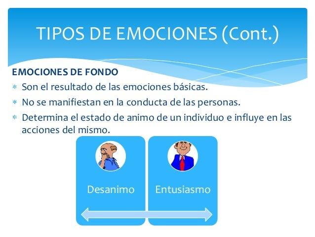 Tipos de Emociones Imagenes Tipos de Emociones Cont