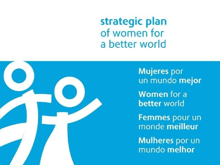 Strategic Plan of Women for a Better World