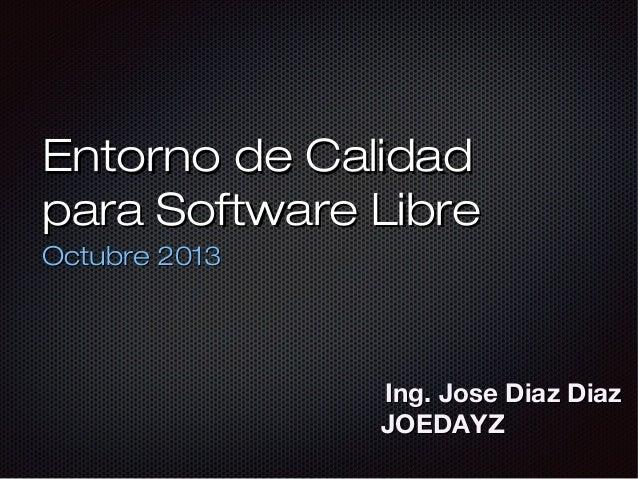 Entorno de Calidad de Software Libre con Jenkins