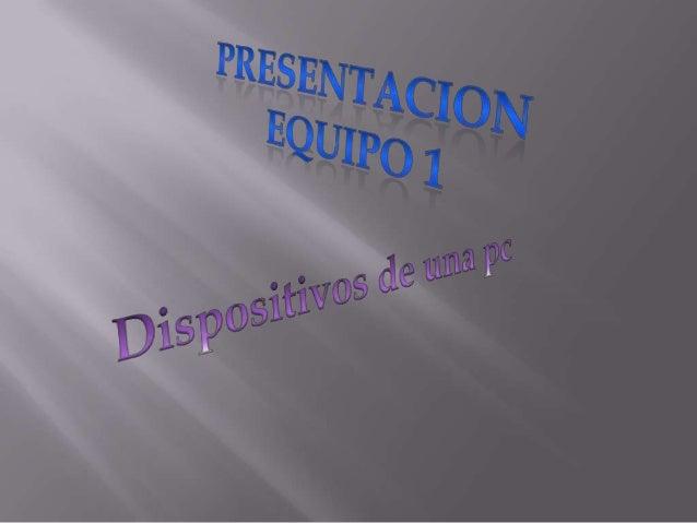 Presentacion equipo1