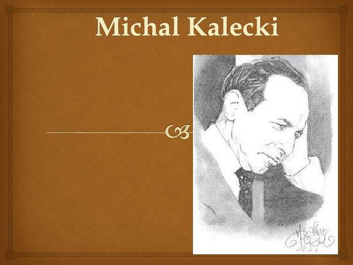 Economista, profesor, investigador                             Economista polaco del siglo XX muy distinguido y con las ...
