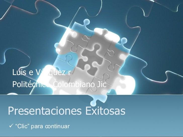 Presentaciones Exitosas 18101