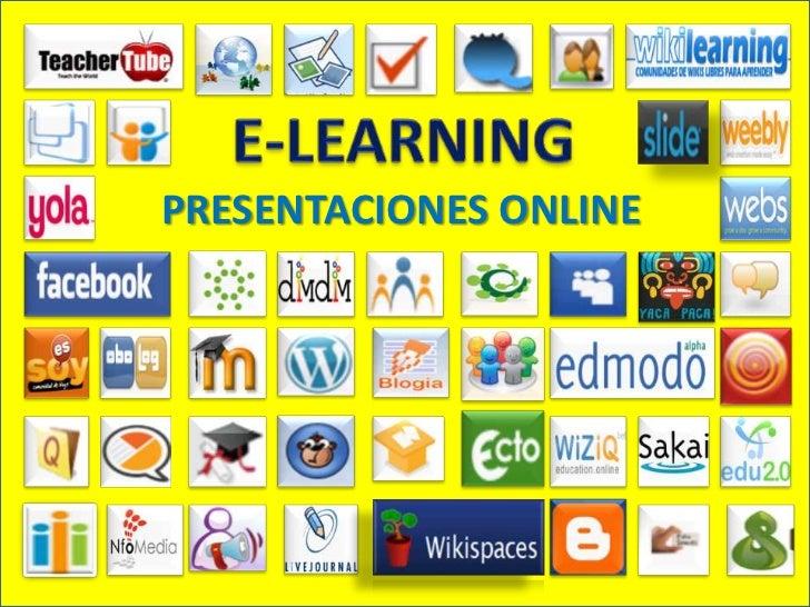 E-LEARNING<br />PRESENTACIONES ONLINE<br />