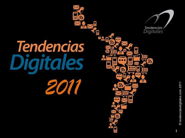 Presentación Evento: Tendencias Digitales 2011