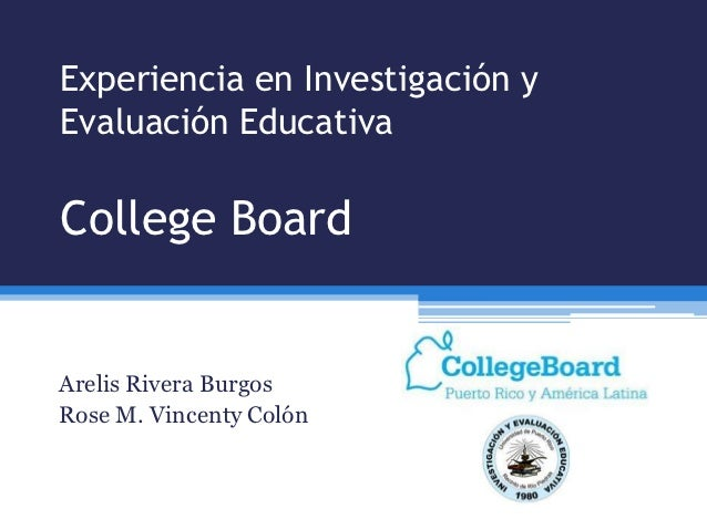 Experiencia en Investigación y Evaluación Educativa