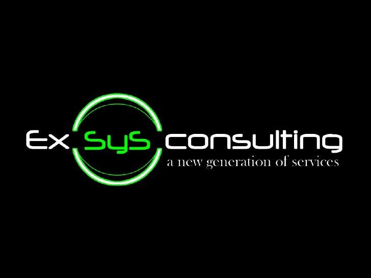 Presentacion ExSyS Consulting
