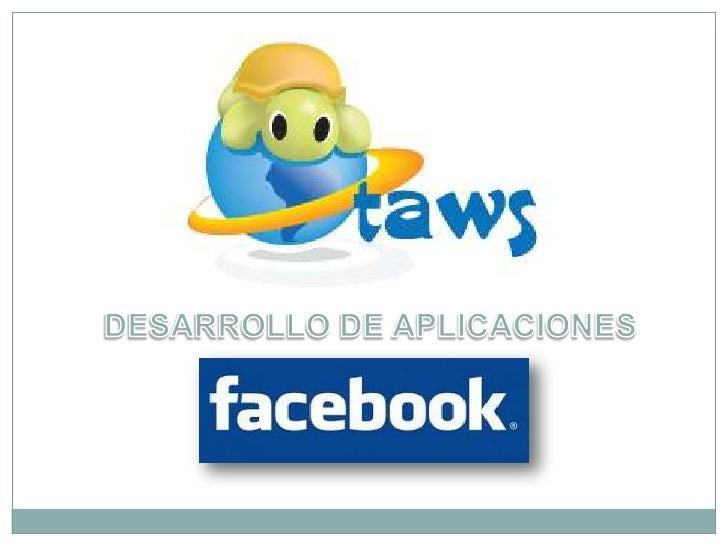 Presentacion facebook's apps