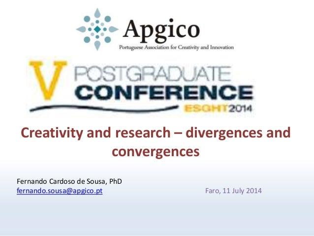 V Postgraduate Conference ESGHT 2014