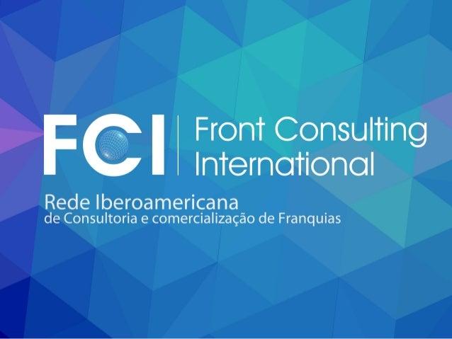 FCI é o primeiro grupo de Consultores de Franquias que operam em diferentes países da Iberoamérica com uma vasta experiênc...