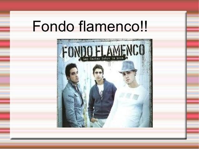 Fondo flamenco!!