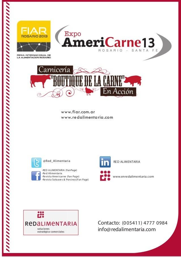 """Virtuales13""""BoutiquedelaCarne""""En AcciónCar�icería@Red_Alimentaria-RED ALIMENTARIA (FanPage)-Red Alimentaria-Revista Americ..."""