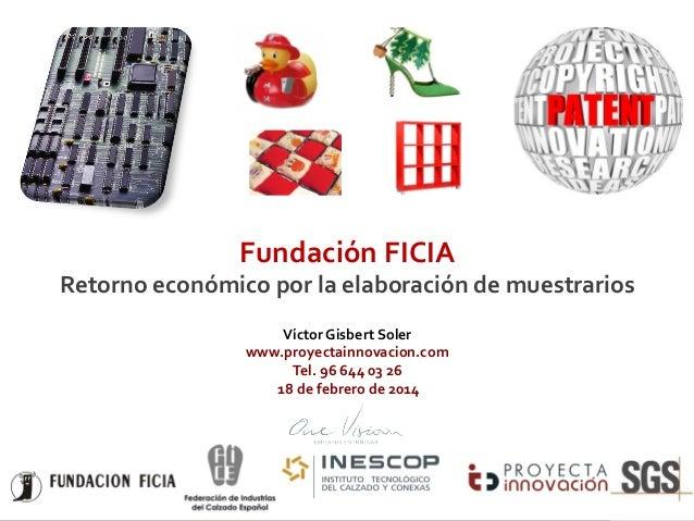 Presentación Ficia One Vision (Proyecta)