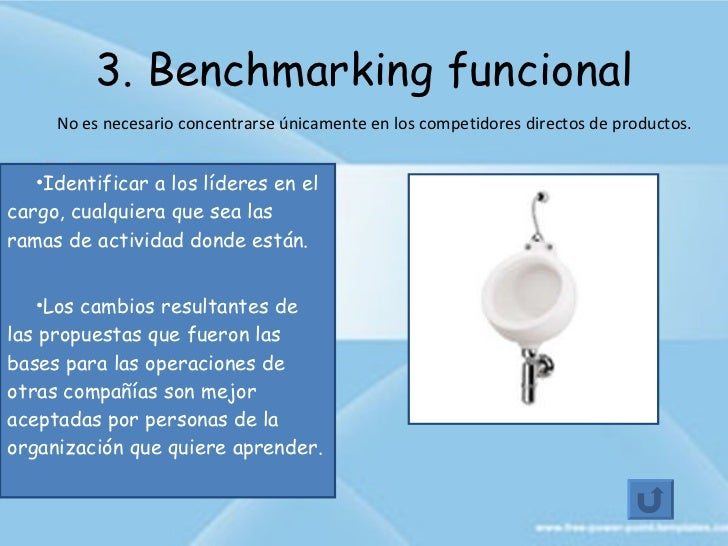 generic benchmarking Benchmarking practices indentified depending of the nature of the object that will benchmark such as process, product and strategic benchmarking in addition the benchmarking could be in the same organization, for example, it might be internal benchmarking, competitive benchmarking, functional benchmarking and generic benchmarking.