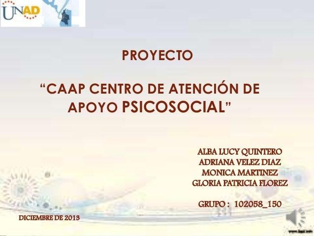 Presentacion final  proyecto grupo_150