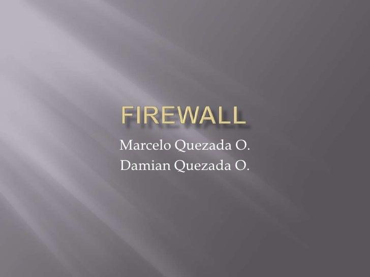Presentacion Firewall