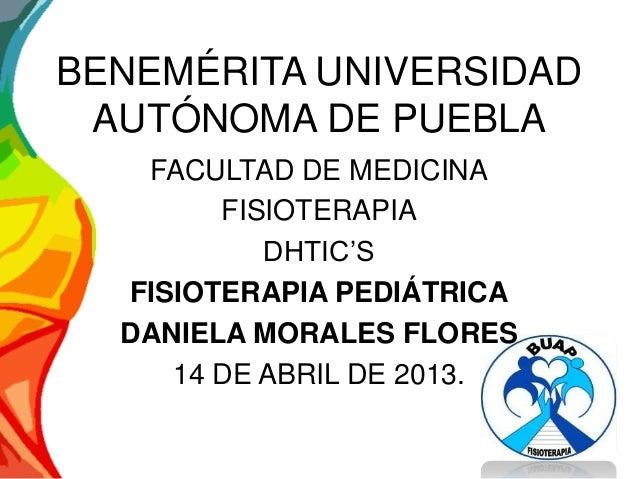 Fsioterapia pediatrica
