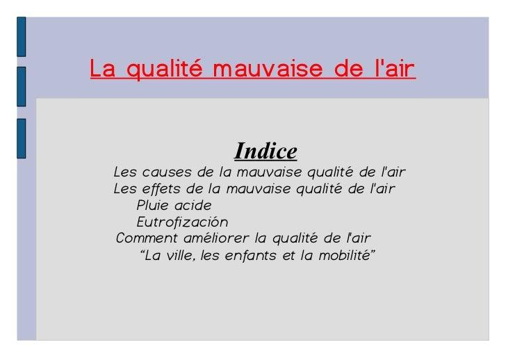 Presentacion frances