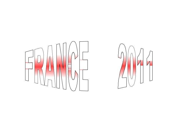 Presentacion francia 2011