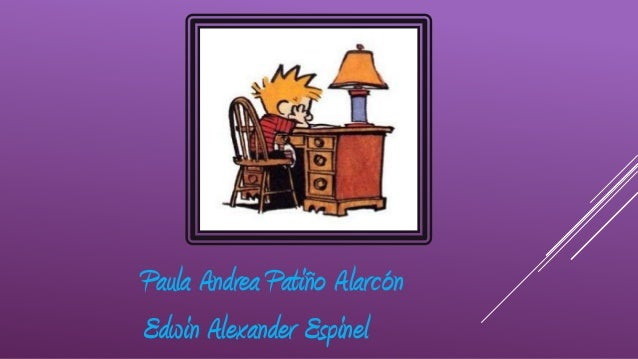 Paula Andrea Patiño AlarcónEdwin Alexander Espinel