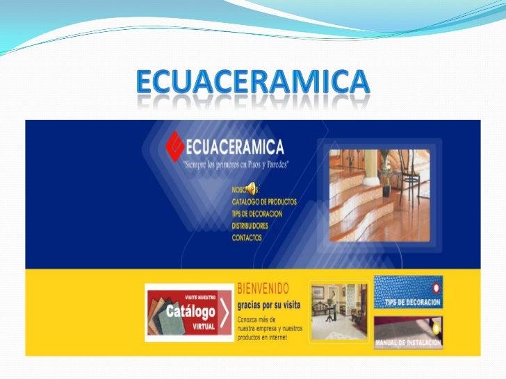 ECUACERAMICA<br />