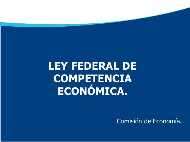 Presentación LFCE GPPAN