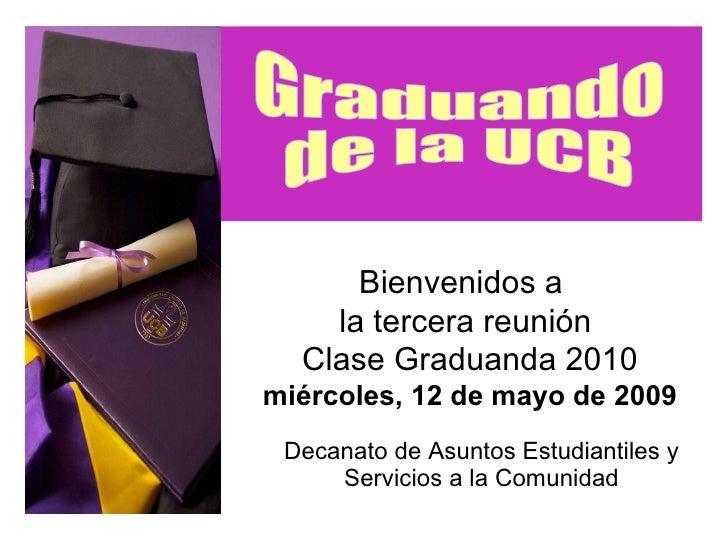 Graduación UCB 2010
