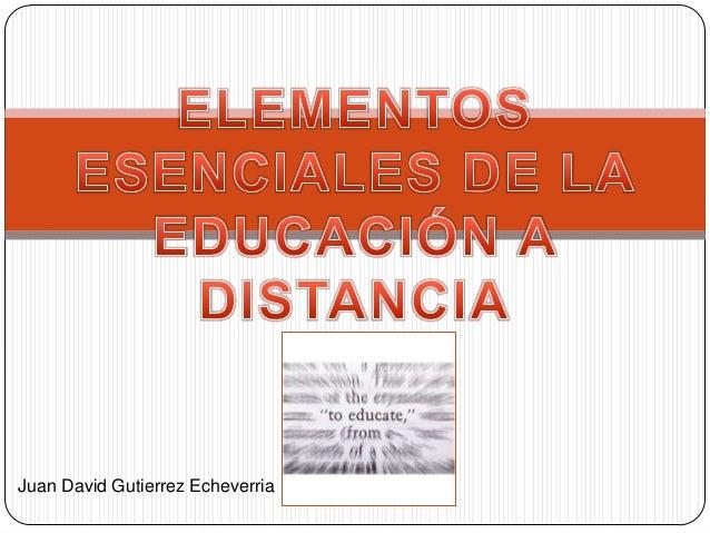 Juan David Gutierrez Echeverria