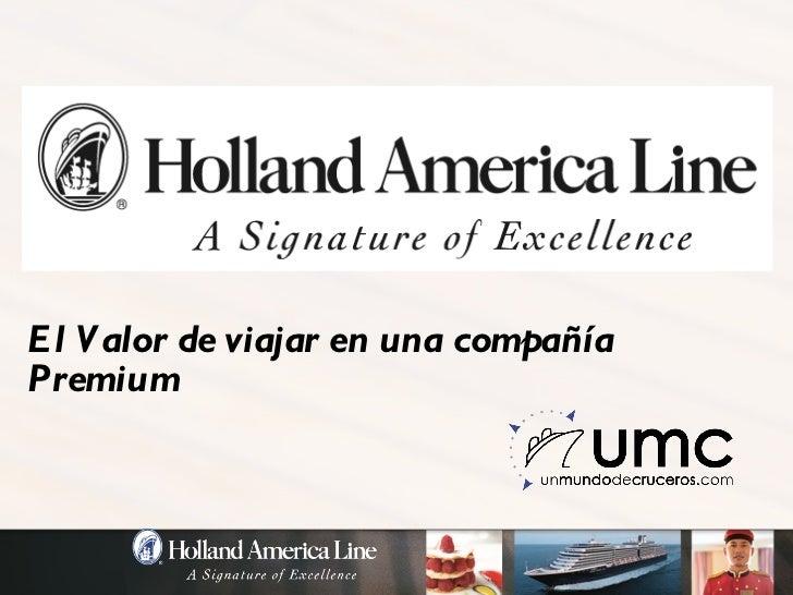Holland America 2011