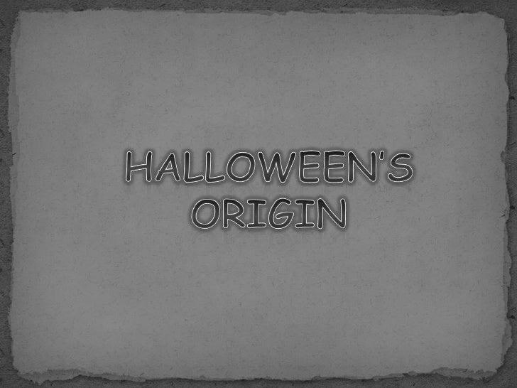 halloween's origin 2