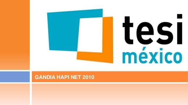 GANDIA HAPI NET 2010