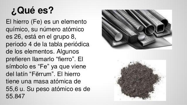 Elemento qumico el hierro fe hierro urtaz Choice Image