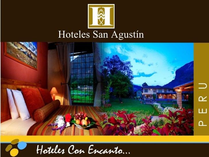Presentacion Hoteles San Agustin Español