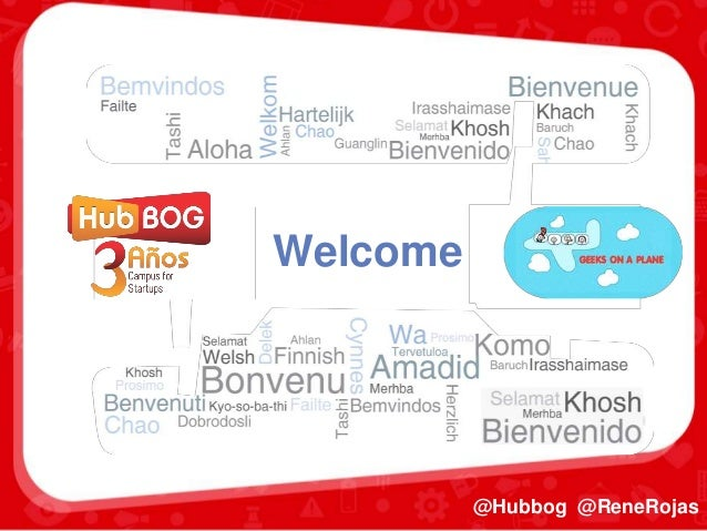 Welcome @Hubbog @ReneRojas