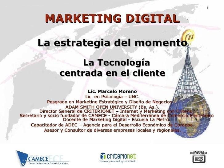 Marketing Digital - A estratégia do Momento