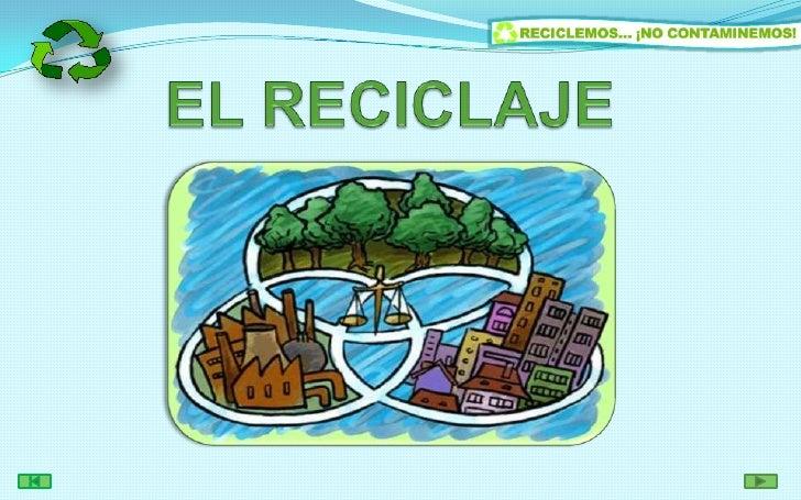 EL RECICLAJE<br />