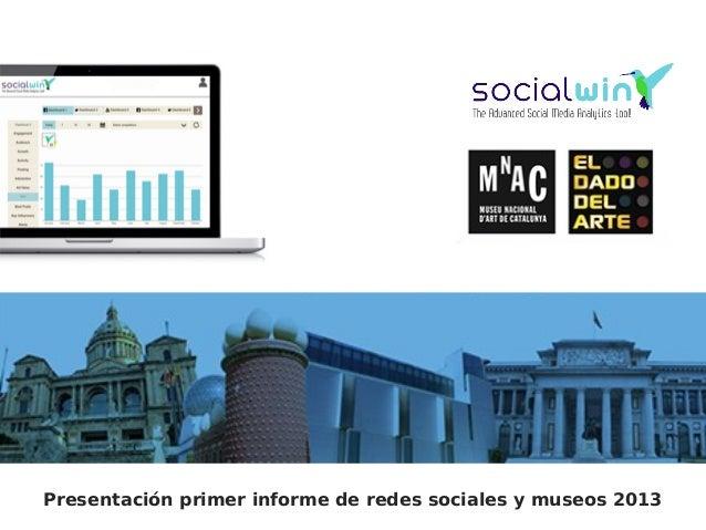 Presentación Informe Redes Sociales y Museos, El Dado del Arte