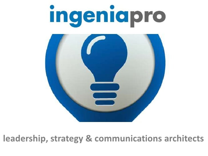 Presentación @ingenia_pro esp ppt